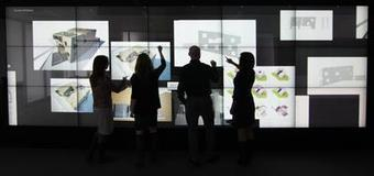 Haworth's Bluescape touchscreen wall a reimagination of the modern workspace | touch screen displays | Scoop.it