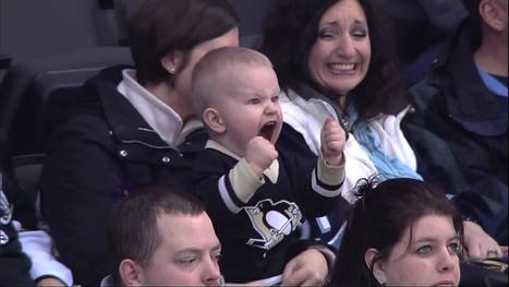 2-year-old's intensity at Penguins game goes viral | Everything Hockey | Scoop.it