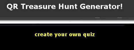 QR Treasure Hunt Generator | QR Codes - Libraries | Scoop.it