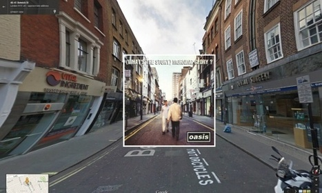 Classic album covers in Google Street View – in pictures | Archivance - Miscellanées | Scoop.it