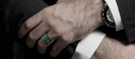 Après les montres et les lunettes connectées, découvrez la bague connectée ! | Be Marketing 3.0 | Scoop.it