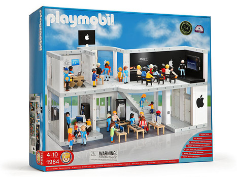 PLAYMOBIL(TM) Apple Store Playset | All Geeks | Scoop.it