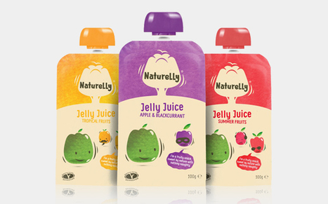 Naturelly refreshes jelly juice packaging with fresh design   Les nouvelles cultures de l'alimentaire   Scoop.it