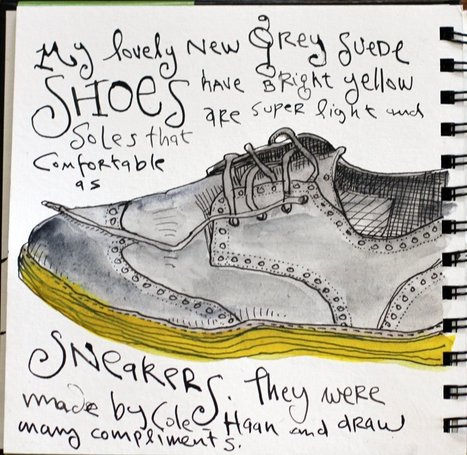Taking the Challenge. EDM Challenge #1: Draw your shoe | Creativity for Better Living and Aging | Scoop.it