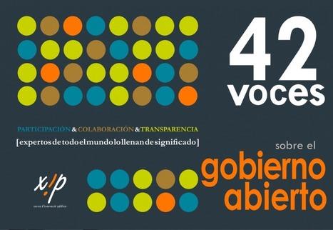 42 voces sobre el gobierno abierto | Diálogos sobre Gobierno Abierto | Scoop.it