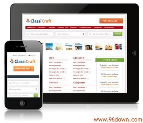 Download ClassiCraft Classified WordPress Theme | Download Free Nulled Scripts | baba | Scoop.it