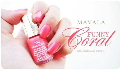 Le blog de MAVALA France : Funny Coral au bout des doigts | Revue de Presse Les Envies de Georgette | Scoop.it