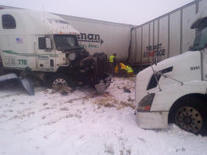 Snow in Midwest leads to 25-car pileup | Climate Chaos News | Scoop.it