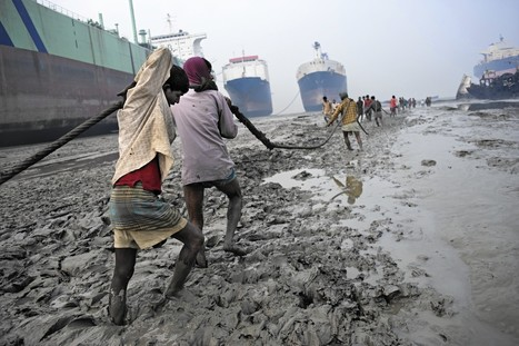 Adult and underage workers risk their lives in Bangladesh's rising ship-breaking industry | Occupational Safety and Health | Scoop.it