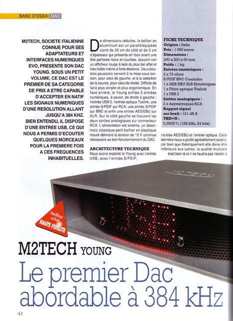 Convertisseur M2Tech Young : Meilleur Achat Haute Fidélité | M2Tech | Scoop.it
