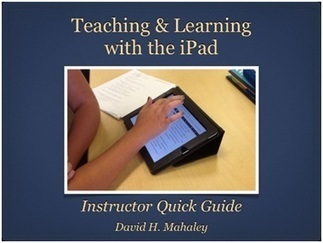 Book Review – Teaching and Learning With The iPad by David Mahaley | Emerging Education Technology | Elementary Education | Scoop.it