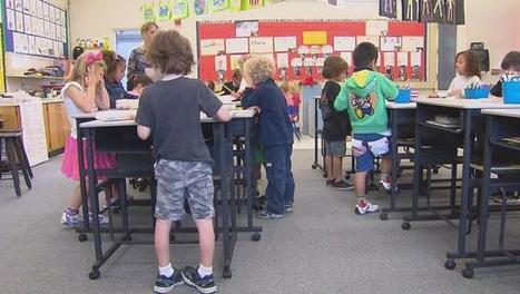 Vallecito Elementary School in northern California brings standing desks into the classroom | EFM King William Street Recommended Reads | Scoop.it