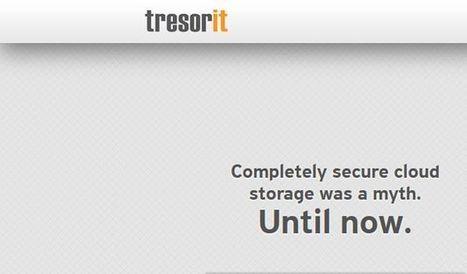 Tresorit, 50 Gb gratuitos de almacenamiento en la nube   El rincón de mferna   Scoop.it