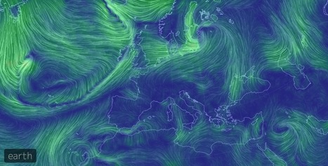 Earth wind map, les vents du globe en temps réel - Regarder le ciel | Regarder le ciel | Scoop.it