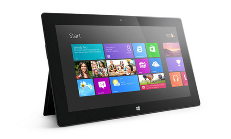 Unsold surface tablets cost Microsoft nearly $1 billion | Radio Show Contents | Scoop.it