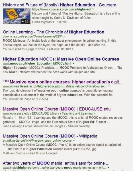 If 80% is informal learning, why focus on inner-MOOC actions? | NGOs in Human Rights, Peace and Development | Scoop.it