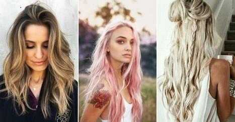 Deze haarkleuren zijn dé trends voor de lente en zomer | kapsel trends | Scoop.it