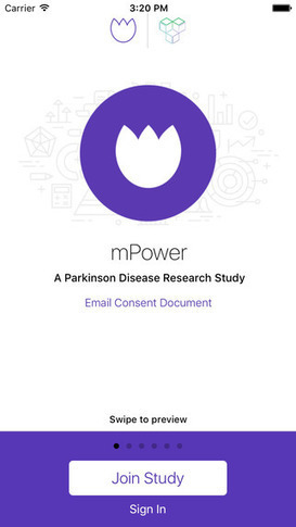 Parkinson's mPower App Celebrates Milestone - 12,000 Registered Users | M-HEALTH  By PHARMAGEEK | Scoop.it