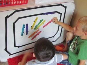 Zoom, zoom around the DIY magnetic race track | Teach Preschool | Scoop.it