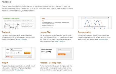 Wolfram Education Portal: Free Resources and Materials for Teachers | E-Learning and Online Teaching | Scoop.it