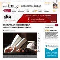 Les réseaux sociaux du livre | Bibliothèque et Techno | Scoop.it
