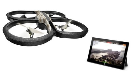 Parrot AR.Drone's Official AR.FreeFlight App Now Available In Windows Store | Nova Tech Consulting S.r.l. | Scoop.it