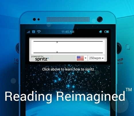 Spritz offers a spritzer for your onscreen reading – whatever the device size | EBooks & Libraries | Scoop.it