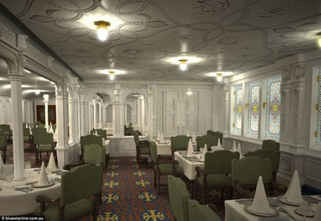 Inside the lavish replica of the Titanic, which is due to sail in 2018 | CLOVER ENTERPRISES ''THE ENTERTAINMENT OF CHOICE'' | Scoop.it