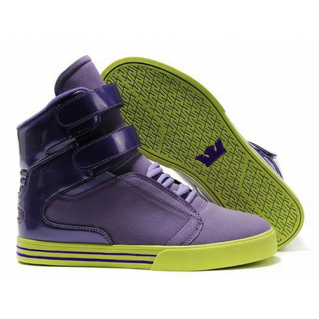 Supra Tk Society Men Size Online with Purple and Lime Green | new and popular list | Scoop.it