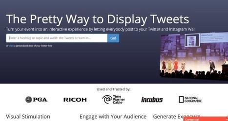 TweetBeam. Créer un mur de Tweets pour vos évènements | Les outils de la veille | Les outils du Web 2.0 | Scoop.it