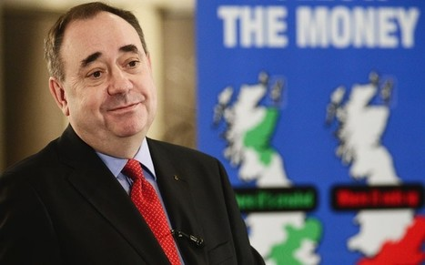 Alex Salmond: independent Scotland will keep pound and stay in EU | My Scotland | Scoop.it