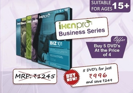 20% OFF on Business Learning DVDs | Educational Toys | Scoop.it
