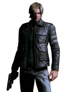 Resident Evil 6 Leon Kennedy Leather Jacket   Resident Evil 6 Leon Kennedy Leather Costume   Scoop.it