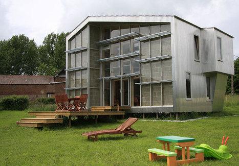 Maison ossature bois et bardage métallique -  WILD architecture | Architecture | Scoop.it