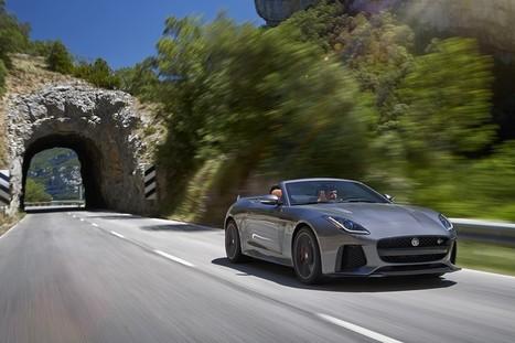 Jaguar F-Type SVR: si aprono gli ordini della Jaguar più veloce di sempre   Motori e Buon Cibo   Scoop.it