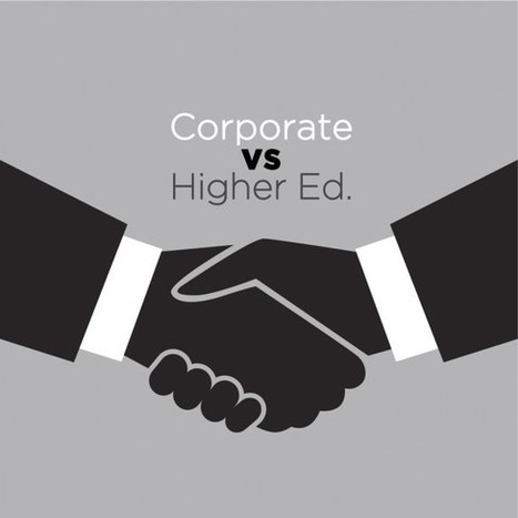 Corporate eLearning vs Higher Ed. eLearning | EdTech, MOOC and Social Learning | Scoop.it