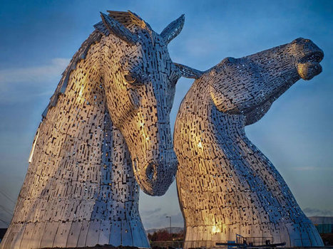 You'll Be Amazed By Scotland's New Giant Horse Head Sculptures | Nature and Travel | Scoop.it