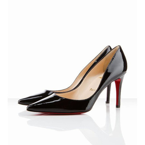 Christian Louboutin New Decoltissimo 85mm Pointed Pumps Black | new and fashion list | Scoop.it