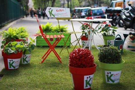Kickers «greeniote» la ville | streetmarketing | Scoop.it