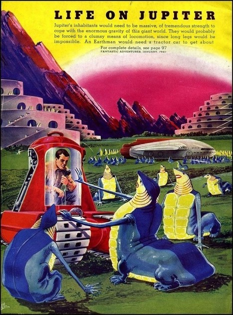 Vintage Predictions of Life on Other Planets | Visual & digital texts | Scoop.it