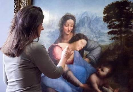 Leonardo: Sant'Anna ritrova il suo blu | Capire l'arte | Scoop.it