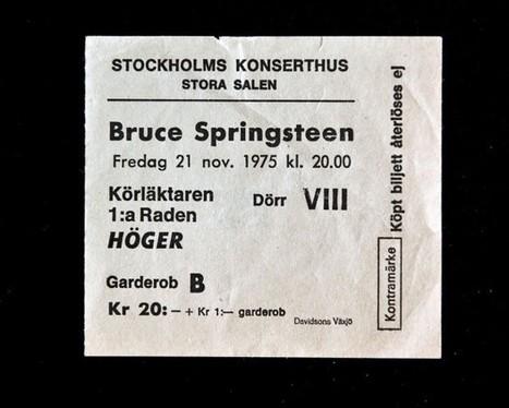 Bruce Springsteen, la collezione dei fan - Repubblica.it | Bruce Springsteen Italy - Open All Night | Scoop.it