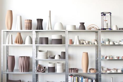 olivier van herpt develops technique for 3D printing functional ceramics | Communication design | Scoop.it