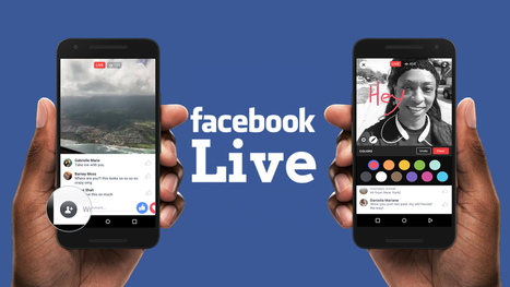 Facebook live permet de choisir son public | Mon Community Management | Scoop.it