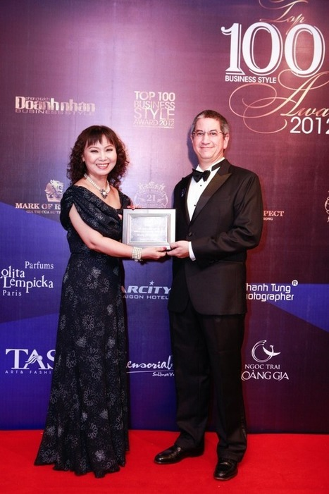 Mark of respect – TRG's CEO in top 100 Business Style Awards | TRG International | Scoop.it