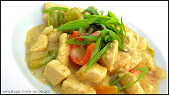 Thai Green Curry Recipe | My Vegan recipes | Scoop.it