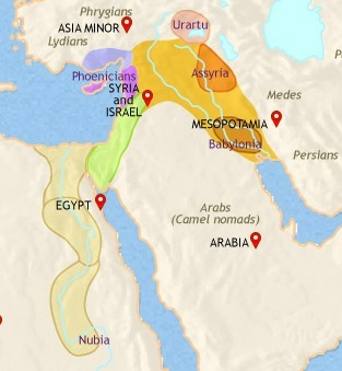 TimeMaps: Middle East | Early human societies | Scoop.it