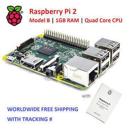 Raspberry Pi 2 Model B 1GB RAM - 8 GB Noobs KIT | Raspberry Pi | Scoop.it
