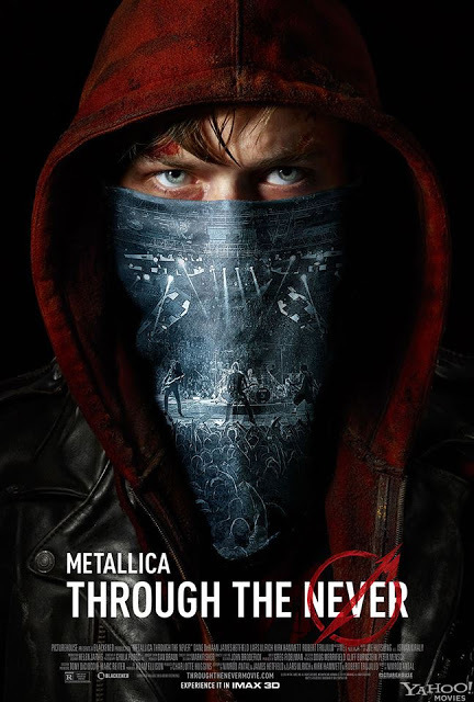 """Metallica : Le film """"Through The Never"""" a une affiche ! 