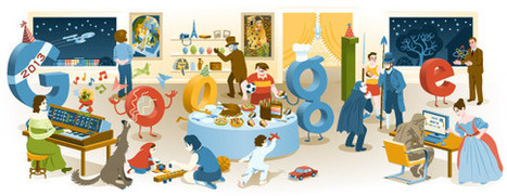 Google's Doodle Of Doodles For New Years Eve 2012 | Marketing coach2u | Scoop.it